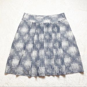 Pure Collection cotton and silk pleated skirt 8/10